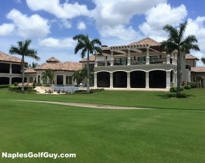 Buying real estate in a naples golf community