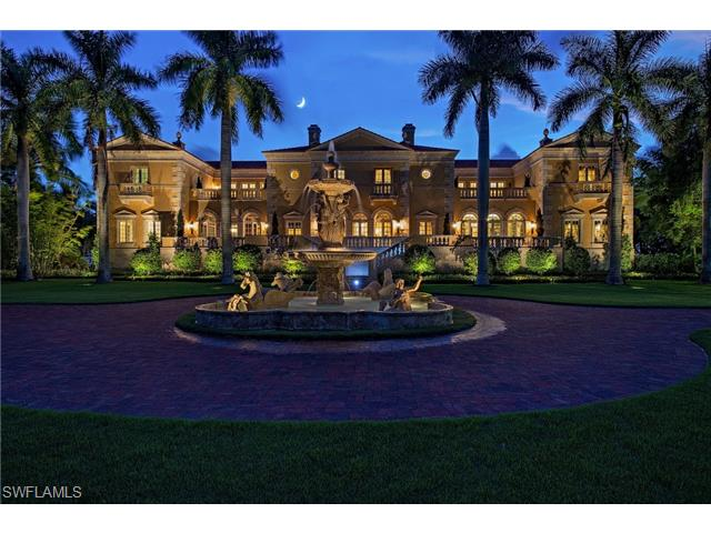 Naples real estate transactions naples golf homes for Luxury houses in florida