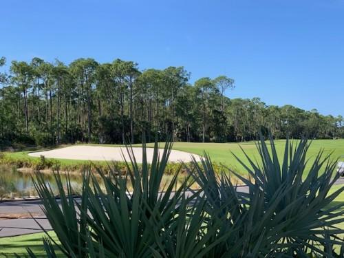Naples gated golf community