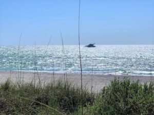 Naples Florida Beach with Boat